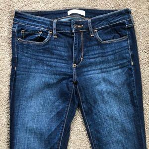 Abercrombie & Fitch dark wash  jeans
